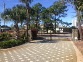 We feature Security with gated entry and cameras